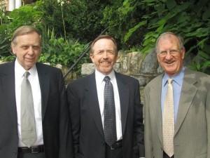 (L to R) Walter J. Olson; John S. Miles; Herbert W. Titus