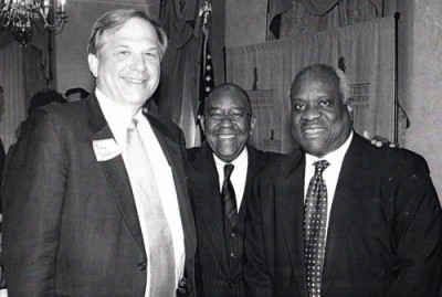 Bill Olson, Jay Parker & Justice Clarence Thomas
